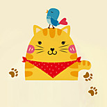 Wall Stickers Wall Decals Style Cute Cartoon Cat Switch PVC Wall Stickers