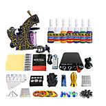 pedal de acero inoxidable de color potencia del equipo de mini kit de la máquina del tatuaje de la bobina (Color de la manija entrega al