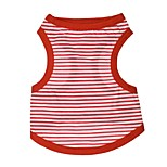 Dog T-Shirt / Vest  A variety of colors / Summer  Floral / Stripe Fashion
