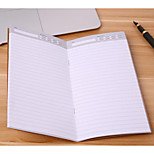 Kraft Plans One Week Month Notebook 32 Sheets Thick Lines of Portable Notepad