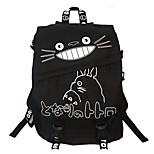 Cartoon My Neighbor Totoro Canvas Backpack
