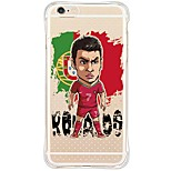 6s iphone plus / 6 / iphone 6s / 6 football tpu étoiles&silicone couverture souple de retour