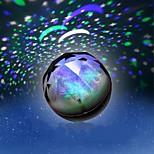 1 stk batteri stokastisk mønster natt lys lampe innenriks projektor lamper strålende diamant natt-lys