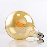 HRY® G125 8W E27 650LM 2700K 360 Degree LED Filament Light G40 Vintage Edison Glass Bulb (220-240V)