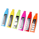 6 Pieces Vegetable Graters Set Vegetable Grinders Assorted Functions for Vegetables Bread Ginger Assorted Colors