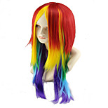 Cosplay Wigs Multi-color Long Length Synthetic Wigs