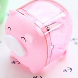 Deli 0557 Mini Pig Pencil Sharpener Pencil Sharpener Machine Super Cute Cartoon Students Pencil Sharpener