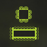 Luminous Wall Stickers Wall Decals Style Creative Lace Switch PVC Wall Stickers