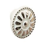 ivory Single hole circular handle(Single hole diameter 31mm)