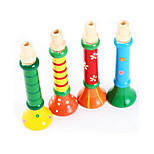 Colorful Wooden Color Instrument Small Horn