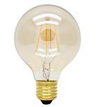 4W E26/E27 LED-glødetrådspærer G125 4 Højeffekts-LED 360lm lm Varm hvid Dekorativ AC 220-240 V 1 stk.