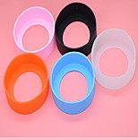 Silica Gel Bottom Of The Cup Protective Cover(Random Color)