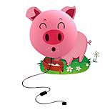 Pink Pig Creative DIY Wall Nightlight