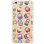 iPhone SE/5s/5 Dolls TPU&Silicone Soft Back Cover