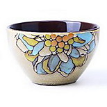 Creative Personality Hand-painted Ceramic Food Bowl (Rice Bowl Random Colors)
