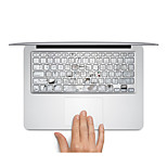 Keyboard Decal Laptop Sticker White for MacBook Air 13