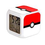 Cartoon Pet Colorful Luminous Alarm Clock-10#