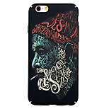 Back Dustproof / Punk Graffiti BSYK01 PC Case Cover For Apple iPhone 6s Plus/6 Plus / iPhone 6s/6 / iPhone SE/5s/5