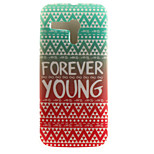 Forever Young Painting Pattern TPU Soft Case for Motorola Moto G XT1028/XT1031/XT1032