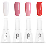 12ml Azure Summer Color Nail Polish 4PCS Soak off UV Gel Nails Art Decoration NO.1