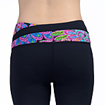 Running Tights Women's Quick Dry / Compression / Sweat-wicking Running Sports White
