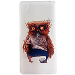 Owl Pattern Frosted TPU Material Phone Case for Sony Xperia Z5 Premium/Z5