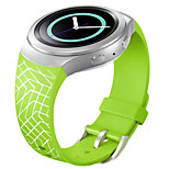 Smart Watches Silicone Watchband Grid Pattern for Samsung Galaxy Gear S2