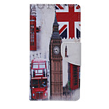 City View Pattern PU Leather Full Body Case with Stand and Card Slot for Huawei Ascend P9 Lite/P8 Lite