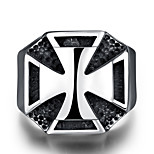 Fashion jewelry Men's / women's ring The ancient Maya Punk Style Vintage 316 l steel ring for party GMYR219
