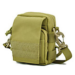 5 L Shoulder Bag Multifunctional Army Green Nylon