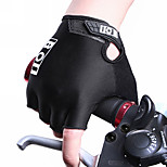 BOI GEL Outdoor Sport Gloves Summer Cycling Bike Bicycle Riding Gym Fitness Half Finger Gloves Shockproof Mittens
