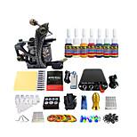 kit de herramienta de un solo color bobina paquete de equipamiento máquina de tatuaje dedicado (la manija del color entrega al azar)