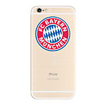 de volta Other Other TPU Macio UEFA EURO Case Capa Para Apple iPhone 6s Plus/6 Plus / iPhone 6s/6