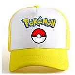 Pocket Little Monster Poke Ball Yellow-White Adjustable Tennis Cap