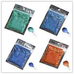 1pcs Nail Art Beautiful Color Colorful Laser Glitter Powder Nail DIY Decoration L09-12