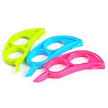 (Color random)10pcs/lot kitchen Fruit Vegetable Gadgets Grater  Orange Peelers Slicer Cutter Plastic cooking Tools