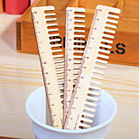 Comb Wooden Ruler 1 PCS