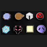 Pocket Little Monster Ash Ketchum League Badges 8 Pieces in a Set Version C