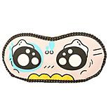 Travel Sleeping Eye Mask Type 0006 Fake Cute Eyes Polyester-cotton blend