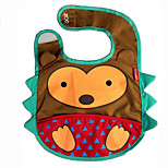 Cotton Bibs Cartoon Animal Shapes