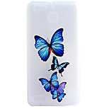 Butterflie Pattern Frosted TPU Material Phone Case for Huawei Ascend P9 Lite/P9/P8 Lite/P8