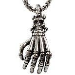 Z230 Europe And The United States Foreign Trade, Gripper Skeleton Titanium Steel Necklace Pendant (Excluding Chain)
