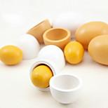 Wooden Simulation Egg 6 PCS/Set
