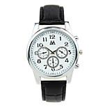 Creative Business Casual Men's Three Time Zones Quartz Mechanical Watch
