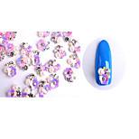 10pcs  Manicure Spend Money A B Ornaments Pearl White Diamond 6 Optional NO380-385