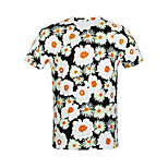 Sports Cycling Tops Men's Bike Breathable Short Sleeve Stretchy Terylene White S / M / L / XL / XXL / XXXL Cycling/Bike