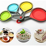 Cups Silicone Bakeware Creative Kitchen Supplies A Family Of Four 5Pcs