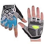 Half Finger Breathable Cycling Gloves Bike Gloves Bicycle Gloves Biking Gloves with Shock-absorbing Gel Pad