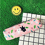 Cartoon Cute PU Soft Leather Pencil Case (Random Colors)