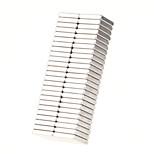 10*10*2mm Square Neodymium NdFeB Magnet (50PCS) Silver